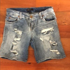 STS Blue Ripped Jean shorts